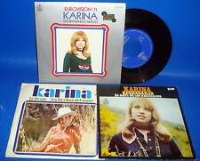 Vinilo 3 Singles EP KARINA buen estado 1970-1971
