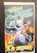 Pokemon MewTwo Returns, 2001 Kids' WB Presents. VHS Nintendo. Pikachu. B02