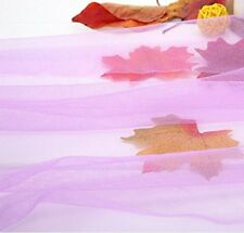 "2Pack Purple Mosquito Netting DIY Fabric 90""Wx5yard Gift for Bed Canopy Netting"