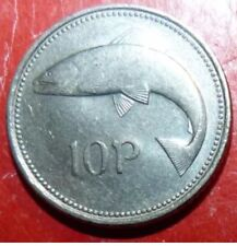 Irish Eire Ten Pence (10p) Coin-1x1993,1x1997,3x1999 Available Seperately