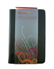"""Roocase Leather Case Cover w/ Stand for Motorola XOOM 2 8.2"""" Tablet Black"""