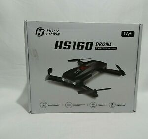 Holy Stone HS160 Shadow Drone Foldable FPV Quadcopter Altitude Hold No Batteries