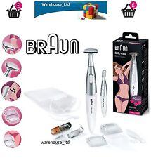 Braun FG1100 Blanco Mujer Damas Pelo Afeitadora Removedor De Cejas forma Bikini Trimmer