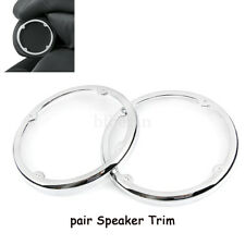 Chrome Tour Pak Speaker Trim For Harley Electra Glide Ultra Limited Tri Glide
