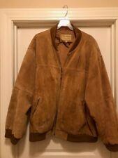Boston Harbor Men's Brown Suede jacket 3XL