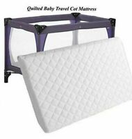 Mamas and papa 95 x 65 x 7.5 cm Extra Thick Foam Travel cot Mattress Made in UK