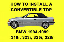 BMW 328i, 323i, 325i, 328i 94-99 How To Install a Convertible Top DIY Video DVD