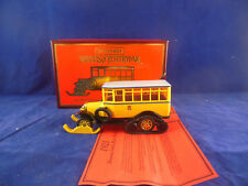 Matchbox Yesteryear Y16 1923 Scania-Vabis Post Bus in Yellow