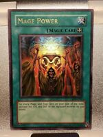 Yu-Gi-Oh! MAGE POWER (LON-050) Ultra Rare Foil Card - Never Played!