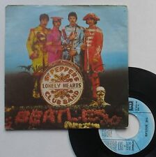 "Vinyle 45T The Beatles  ""Sgt. Pepper's lonely hearts club band"""
