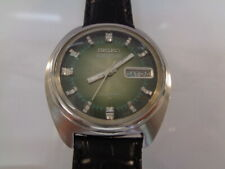 SEIKO 5 ACTUS MENS WATCH DAY & DATE AUTOMATIC 7019-7350