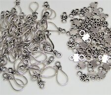 1 Set Tribe Cacique Hook Clasps Connectors Findings Jewelry Making 80x24mm