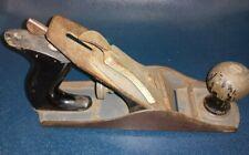 Clean Vintage Stanley Handyman Bench Smooth Woodworking Plane Carpenter
