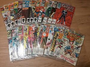 Fantastic Four Vol. 1 :  250 - 274 (1961), average  VFN, US Originale