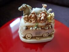 Harmony Kingdom Ed's Safari Ii Figurine Trinket Box Andrea's Safari
