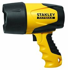 Stanley Waterproof Spotlight Flashlight LED Rechargeable Lamp Camping Boating