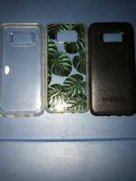 Lot Of 3pc Authentic Samsung Galaxy S8 Otterbox Black,Otterbox Clear,Sonix Cases