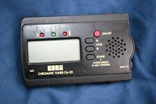 Korg Ca-30 Chromatic Tuner- Includes battery