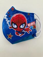 �� Spider-Man 5-8 Year Old Kids Face Mask Washable Reusable Cover Hero Cloth �