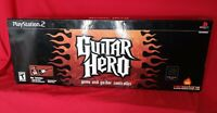 Playstation 2 PS2 Redoctane Guitar Hero Guitar Only With Original Box Rated Teen