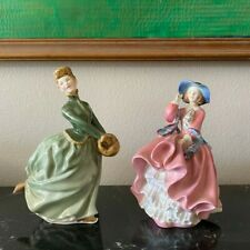 "Royal Doulton Figurines ""Grace"" 1965 ""Top of the Hill"" In Great condition!"
