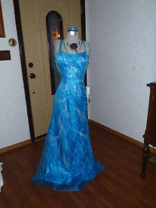 Joli Prom pageant formal evening gown sequins & beading
