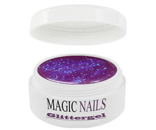 UV GEL 5 ml GLITTERGEL LILA 19