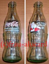 Coca Cola Glas Flasche SOS KINDERDORF  EDITION 2002 Weihnachten 0,25 L / rar