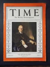 Vintage Time Magazine June 15,1936 Yale's James Rowland Angell cover