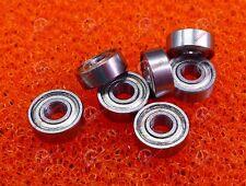 10 PCS - MR83ZZ (3x8x3 mm) Metal Double Shielded Ball Bearing Bearings MR83z
