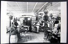 McGREGOR Iowa ~ 1930's MOODY'S MUSEUM & ANTIQUES STORE ~ Real Photo PC  RPPC
