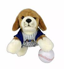 Ganz Webkinz Signature Lying Beagle Dog Puppy Stuffed Animal w/ Baseball Outfit