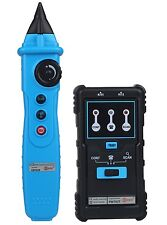 Rj45/Bnc Rj11 Multifunctional Wire Cable Tracker Telephone Line Status Tester
