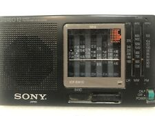 Radio Sony ICF-SW10 12 bands World Band Receiver FM MW LW SW  Japan