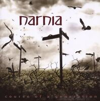 "NARNIA ""COURSE OF A GENERATION"" CD POWER METAL NEW+"