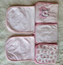 New listing Burp Cloths Girl Cute Pink Brand New