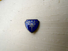Unknown Antique Lapel Pin Stamped on Back Canadian SS Courses Blue Enamel Stars