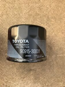 Toyota Corolla E10 1992-97  Oil Filter Part Number 90915-30001