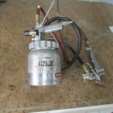 Devilbiss KB II with Hoses and Binks 2001 Flowmaster Spray Gun (See Details)
