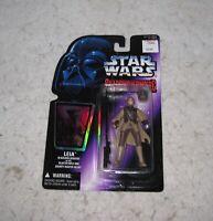 Star Wars Leia SOTE Action Figure Kenner 1996 Hasbro MOC