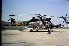 3/566 Aérospatiale SA 330 Puma Portuguese Air Force 9503 Kodachrome SLIDE