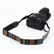 Neck Shoulder Strap Belt Vintage for SLR DSLR Camera Binoculars Nikon Canon OI