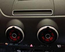 Audi A3 S3 RS3 Sportback Cabrio 8V Display Navi Radio Alu Dekoreinlage Leiste