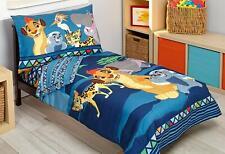 Disney Lion Guard Wild Team 4 Piece Toddler Bedding Set - SEE DETAILS