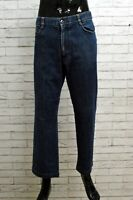 Jeans Harmont & Blaine Uomo Taglia Size 54 Pantalone Pants Gamba Dritta Elastico