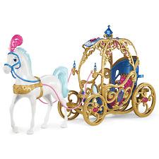 Disney Princess Cenicienta Caballos y carruajes (Muñeca No Incluida)
