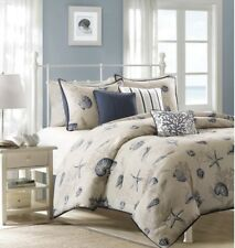 Madison Park Bayside 6Pc Nautical Printed Duvet Set ~ Full/Queen ~ New with Tags