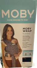 Moby Wrap Baby Carrier, Baby Wrap Carrier for Newborns & Infants Leopard