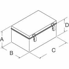 """BOX ABS/PC 15.68""""L X 11.73""""W"""