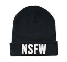 NSFW beanie 'not safe for work' funny beanie hat supreme palace